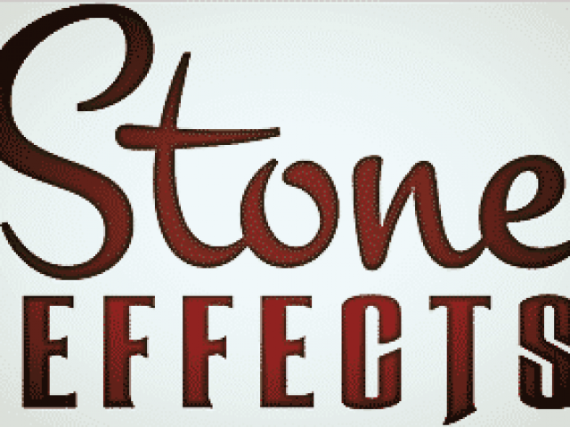 Stone Effects.